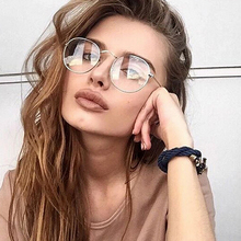 Vintage Oval Classic Sunglasses Alloy Mirror Eyeglasses Street Beat Small Frame Sun glasses Fashion Brand Design