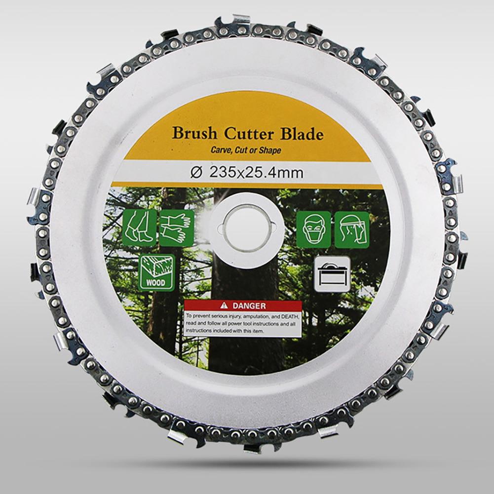 9 дюймов 18 зубьев цепная пластина угловая шлифовальная цепь диск резьба по дереву диск для угловая шлифовальная машина Стальные столярные