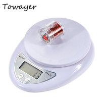5kg/1g 1kg/0.1g Portable Digital Scale LED Electronic Scales Postal Food Measuring Weight Kitchen LED Electronic Scales 1