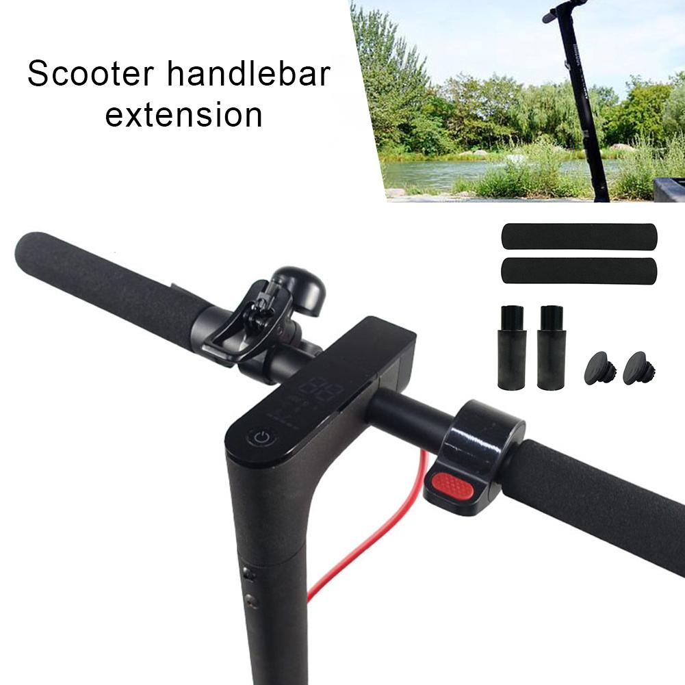 Electric Scooter Handlebar Extender Handle Grip Anti-slip Lengthened Handlebar Cover For Xiaomi ScooterM365 Skateboard Accessory