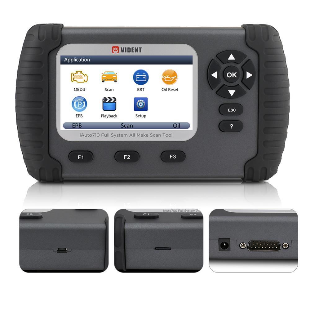 Vident herramientas de diagnóstico de sistema completo OBD2 escáner iAuto700 todas las herramientas de escaneo con servicio de aceite EPB DPF funciones especiales PK NT624 Nuevo adaptador Bluetooth V1.5 Elm327 Obd2 Elm 327 V 1,5, escáner de diagnóstico para automóvil para Android Elm-327 Obd 2 ii, herramienta de diagnóstico para coche