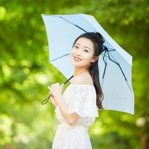 Image 4 - Paraguas soleado XIAOMI MIJIA paraguas Umbrella ultracorto plegable portátil para mujeres sombrilla de protección solar impermeable a prueba de viento UV playa parasol