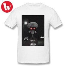 Koszulka samobójcza Squidward $ uicideboy $ mężczyźni śmieszne koszulki 2018 męska letnia koszulka na co dzień koszula podstawowy T-Shirt Plus rozmiar 4XL 5XL 6XL