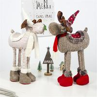 45 60 CM New Christmas Decorations Christmas Dolls Christmas Tree Decorations Innovative Elk Santa Decorations