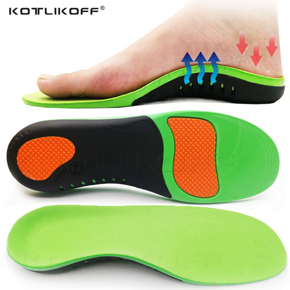 High Quality EVA Orthotic Insole For Flat Feet Arch Support Orthopedic Shoes Sole Insoles For Men Women Heel Pain Shoe Pads