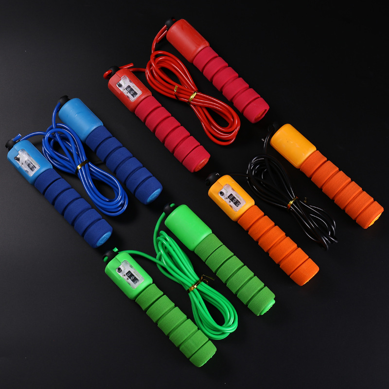 Cen Men Fitness Sports Sponge Count Adult Children Jump Rope