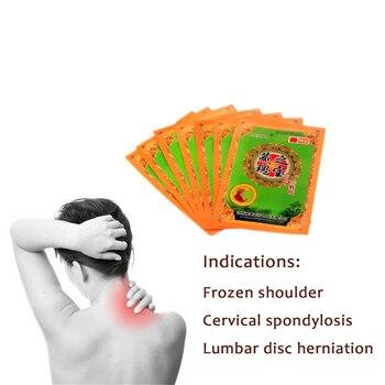 100% Original Herbal medicinal Treat Frozen parches para el hombro Yarrow Scapulohumeral Periarthritis aceites esenciales de hueso de buey 10 bolsas