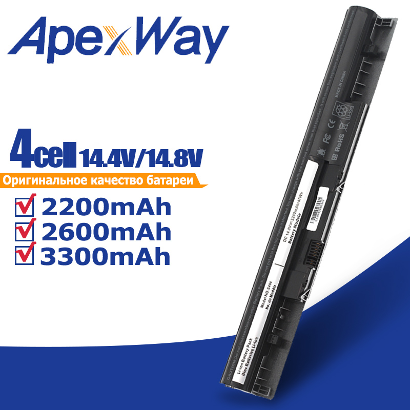 Apexway 3200mAh Laptop Battery For Lenovo IdeaPad 4ICR17/65 L12S4L01 S400u S405 S410 S415 S300 S310 S400 Touch Series