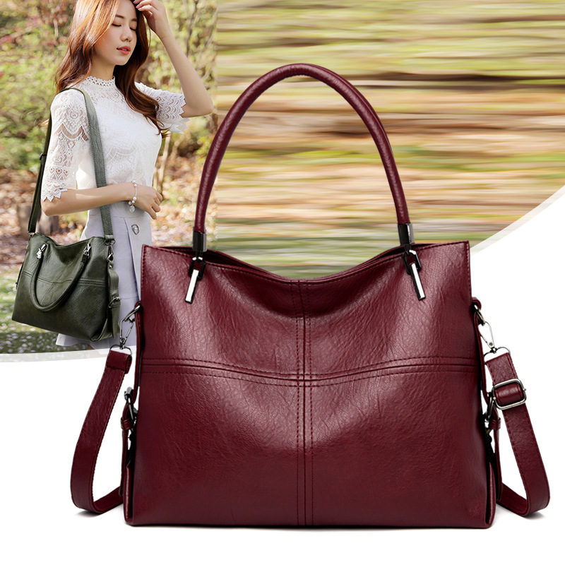 Women Handbags Genuine Leather Bag Female Shoulder Crossbody Bags High Quality Leather Totes Women Messenger Bag