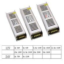 12 V 24 V Volt Trasformatori di Illuminazione 12 V 24 V LED di Alimentazione del Driver Volt 12 V Adattatore di Alimentazione 24 V Trasformatori di Illuminazione Ha Condotto La lampada
