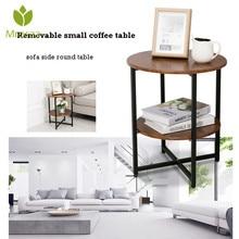End-Table Sofa Side-Desk Bedroom Round Living-Room Small Mrosaa Home-Side Tea