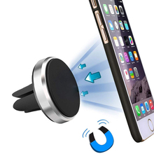Magnetic Phone Holder For In Car Air Vent Mount Universal Mobile Smartphone Stand Magnet Support Voiture