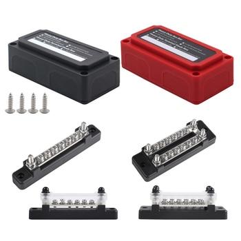 Cajas de distribución de barra de Bus, Kit de bloques de distribución de suelo con tornillo en la cubierta, varios modelos. 1