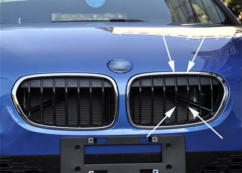 3D ABS M Stickers For <font><b>BMW</b></font> <font><b>M3</b></font> M5 320 E36 E46 E90 <font><b>E92</b></font> F10 F30 Car Front Grille Car Styling Emblem Trunk Badge Decals Accessories image