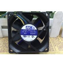 Original AVC 7cm7025 DS07025T12U DC12V 0.7A 4-pin PWM ventilador de refrigeración de aire grande 8,4 W 5500RPM 50CFM
