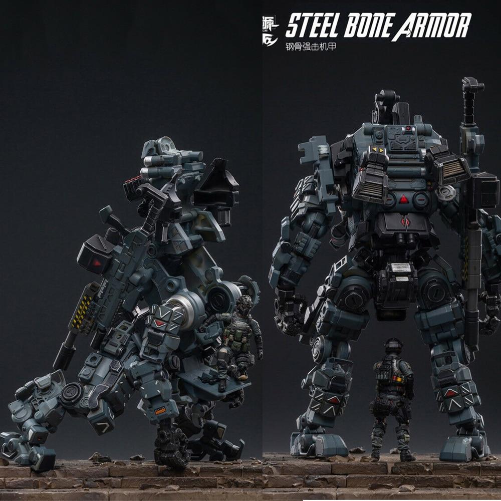 JOYTOY Steel Bone Armour Grey Figure New Toy 51921011 for Collectible 22cm