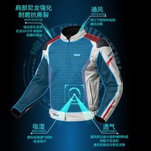 Image 5 - NERVE Motorcycle Jacket +pants Men Women Chaqueta Moto Windproof Motocross Jacket Suit Wearable Moto Riding Racing Jacket