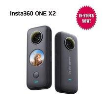 Insta360 um x2 esporte câmera de ação panorâmica 5.7k vídeo 10m à prova dwaterproof água flowstate estabilização 1630mah ação câmera