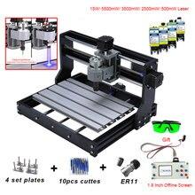 CNC 3018 PRO Mini Laser Engraver With ER11 GRBL CNC Router For Hobby DIY Engraving Machine Wood PCB PVC CNC3018 Engraver цена 2017
