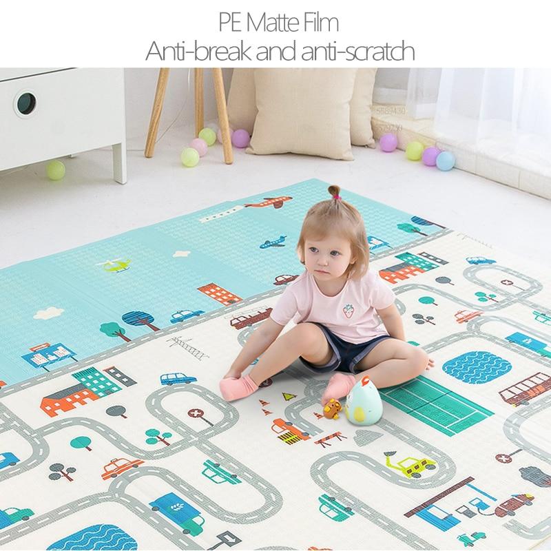 Baby Play Mat Puzzle Children Foam Mat XPE Baby Room Crawling Toys Baby Gym Folding Carpet Developing Mat Kids Rug Playmat
