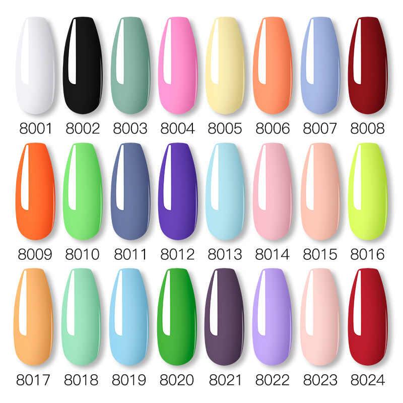 Viento de uñas Gel de esmalte de uñas UV lámpara LED Gel barnices pintura híbrido Manicute conjunto para uñas de arte necesita capa superior para base gel polaco