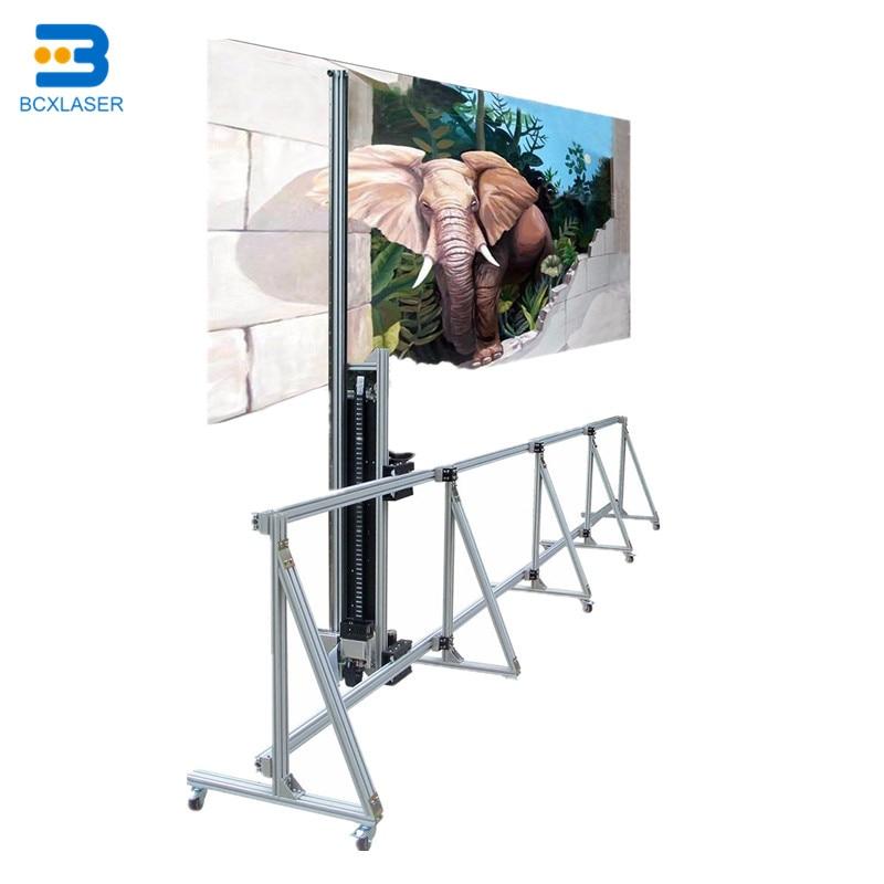 3D Wall Printer Machine Indoor Outdoor High Precision 3D UV Flat Intelligent Vertical Digital Varnish Inkjet Wall Printing