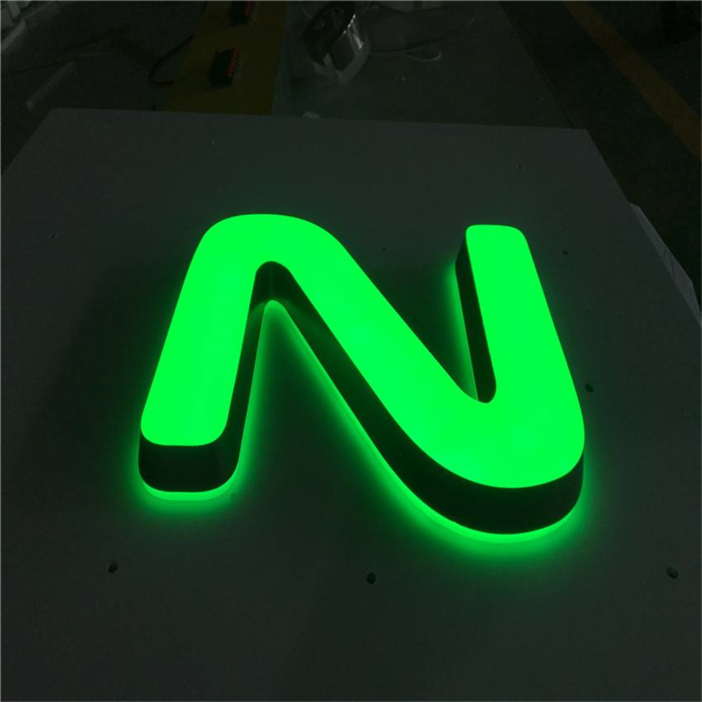 Factory Outlet  Shop Sign Advertisingt Sign Board Super High Brightness Acrylic Letters