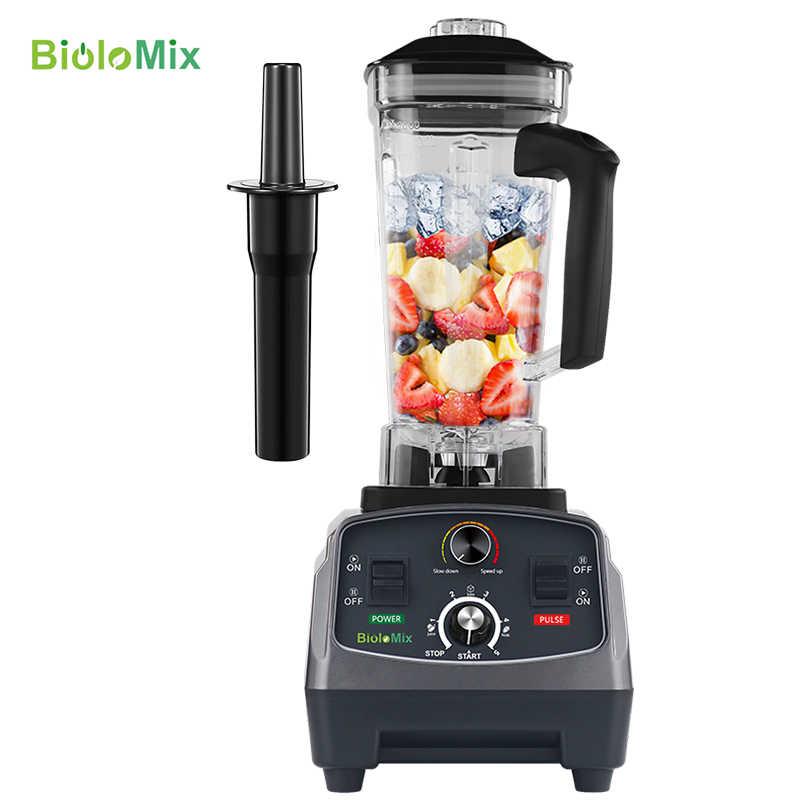 3HP 2200W Resistente del Grado Commerciale Timer Automatico Blender Mixer Spremiagrumi di Frutta Cibo Processore Ghiaccio Frullati BPA Libero 2L vaso