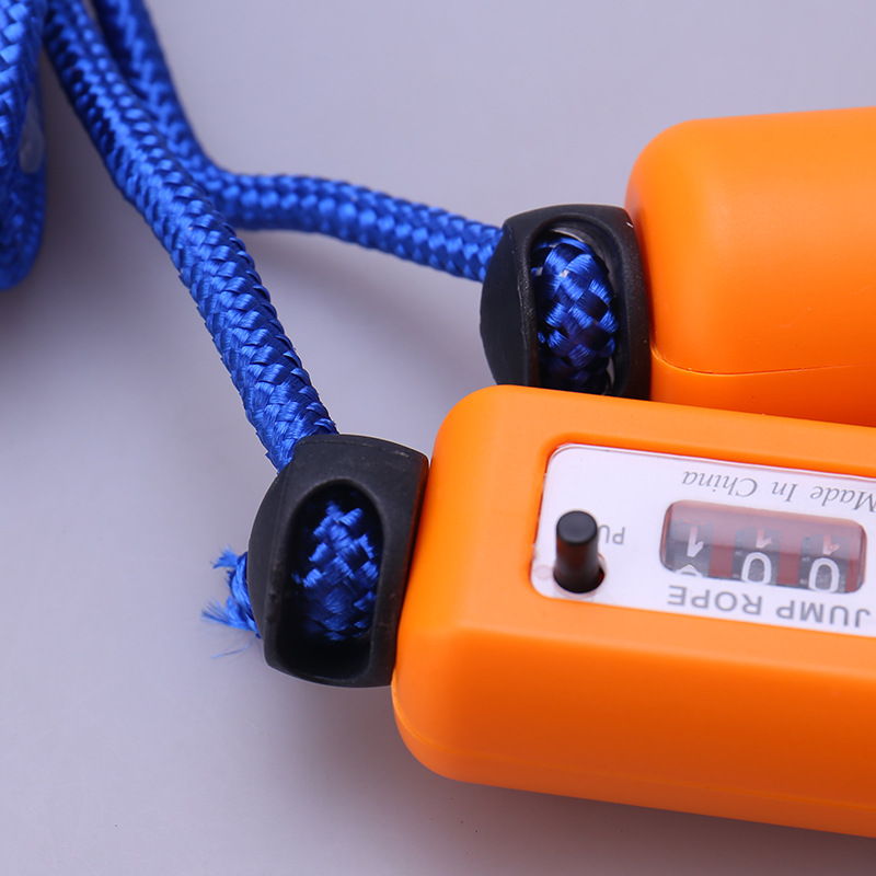New Style Electronic Counting Jump Rope Primary School STUDENT'S College Entrance Examination For Fitness Sponge Handle