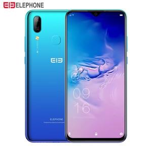 Image 2 - Elephone A6 Max 4G Smartphone Android 9.0 4GB RAM 64GB ROM MT6762V Quad Core 20MP Fingerprint 5V/2A 3400mAh OTG NFC Mobile Phone