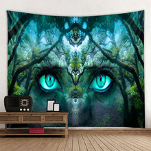 Fantasy forest print hippie wall bohemian wall tapestry mandala wall art decoration tapestry sunset forest horse pattern wall art tapestry