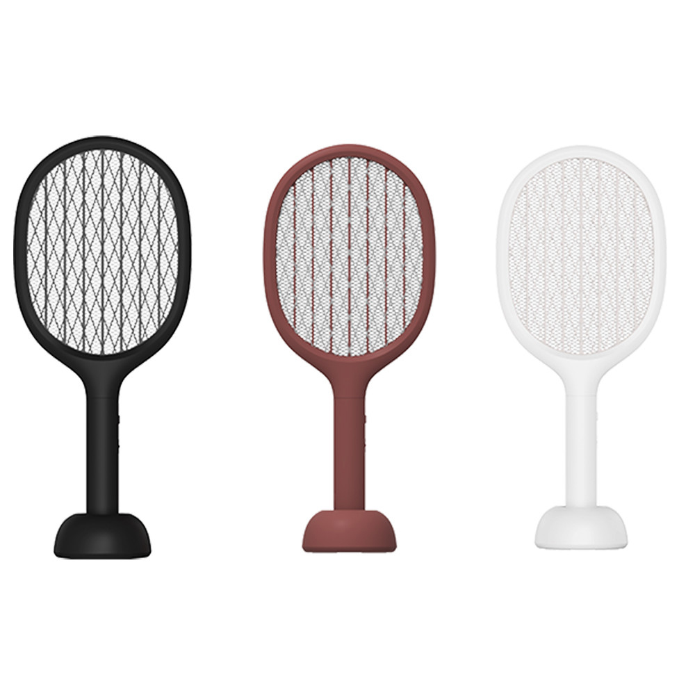 2019 Mijia Solove P1 Electric Mosquito Swatter Insect Bug Fly Mosquito Dispeller UV Light Double Size Anti-Electric Shock Net