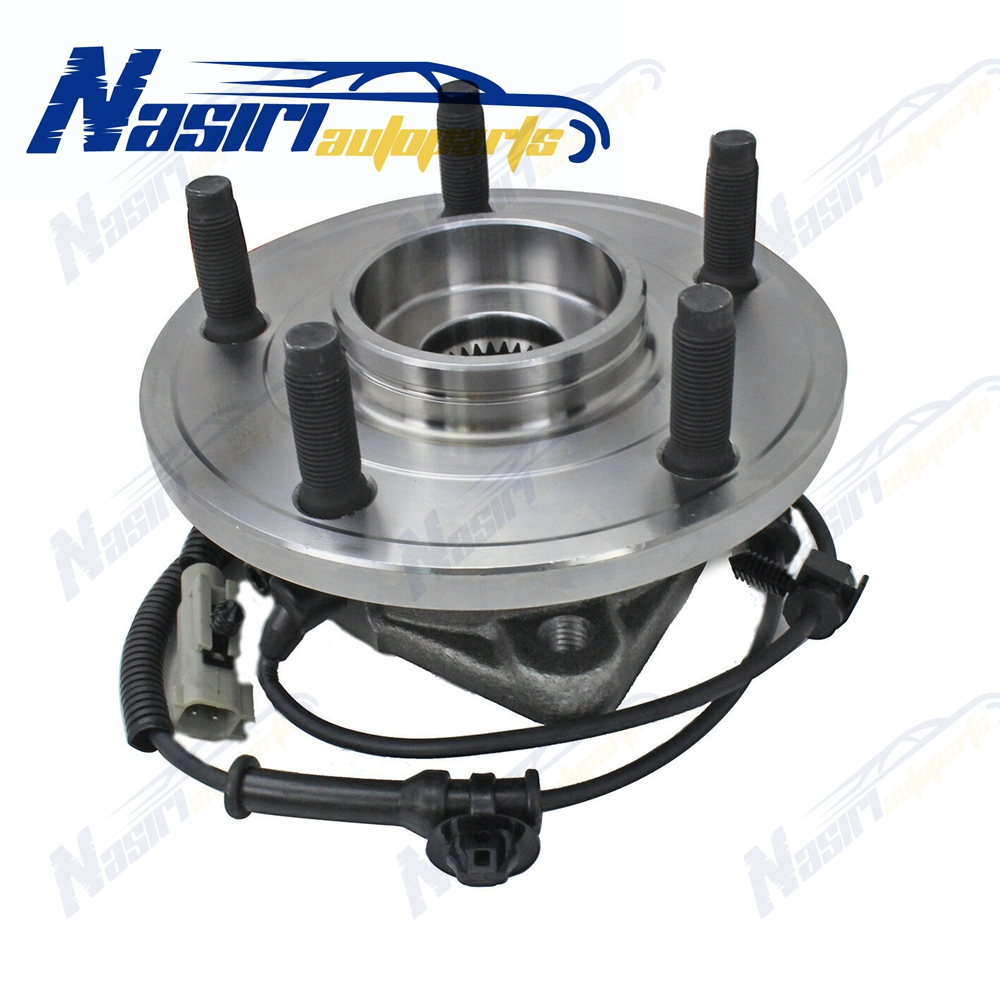 Stirling 2009 For Jeep Grand Cherokee Front Wheel Bearing and Hub Assembly x 2
