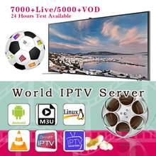 Cabo de vermelho, compatível com smart tv, I-P-T-V android ios, pc, m3u, anual