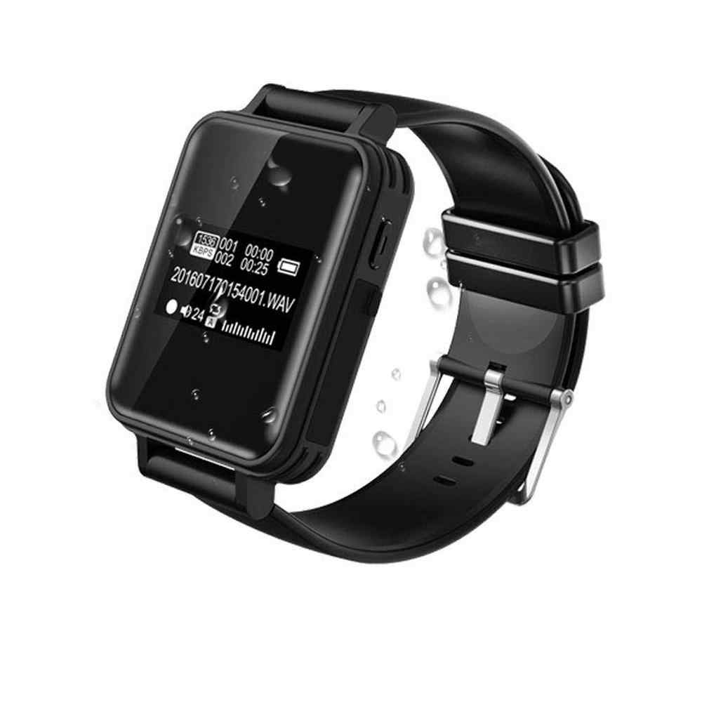 Portable Digital Voice Recorder Stereo Audio Recording Smart Bracelet Watch Pedometer HiFi Loseless MP3 Player V81