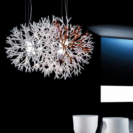 North Europe Coral Pendant Light Living Room Light Dining Room Light Bar/ Cafe Light Ac90-265v Free Shipping