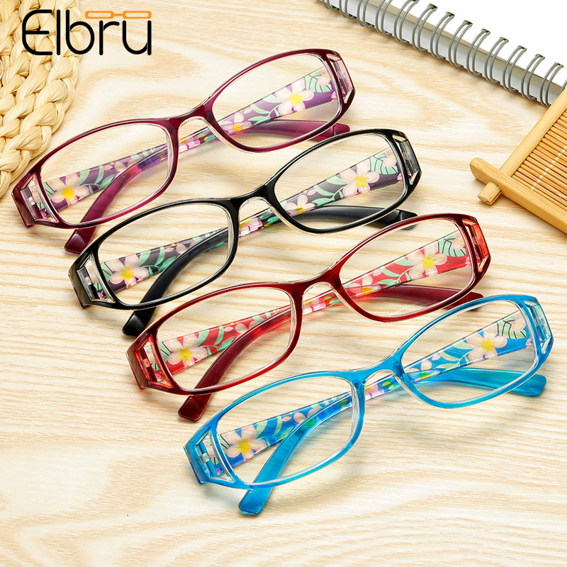 Zilead +1.0 To +3.5 Reading Glasses Spectacles  Anti Blue-ray Ultralight Glasss Flower Presbyopia Eyewear Cheap For Men Women