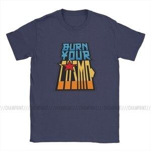 Image 2 - Saint Seiya Brennen Ihre Cosmo T Shirt Männer Ritter von die Sternzeichen Anime Lustige Baumwolle T Shirt Crew Neck T Shirts gedruckt Kleidung
