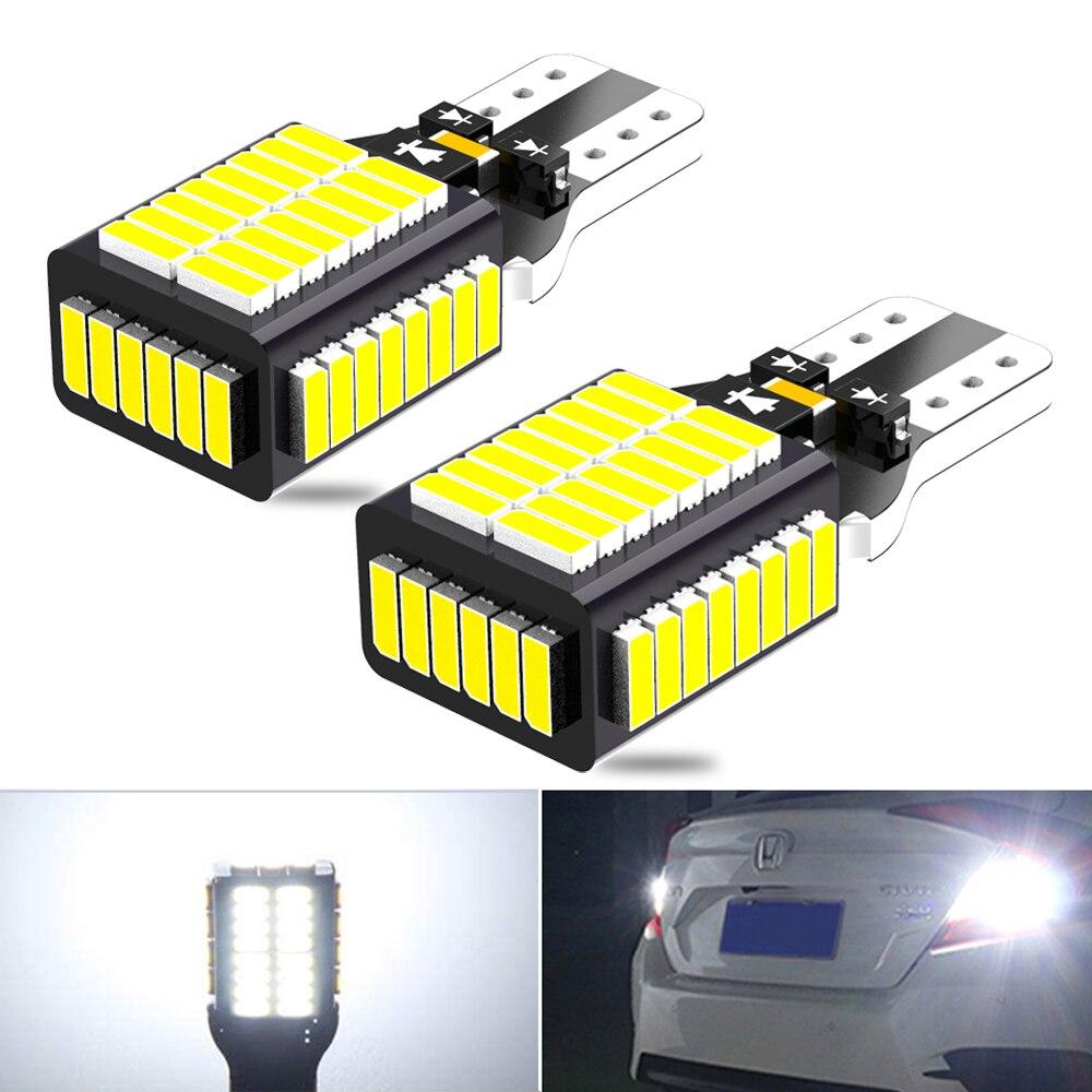 2x W16W светодиодный T15 Canbus 912 921светильник заднего хода для Audi A3 A4 A5 A6 C7 Q5 Q7 100 A7 A8 B6 B8 Q3 C5 C6 TT 80 A1 Quattro