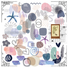 Papier décoratif en velour à motif irrégulier, pour Scrapbooking, bricolage, planificateur heureux, Photo, fabrication de cartes, projet de journalisation
