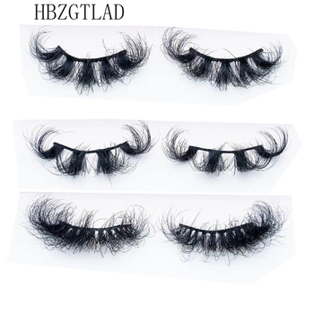 Mink Eyelashes 25mm Lashes Fluffy 3d Mink Lashes Makeup Dramatic Long Natural Eyelashes Wholesale Eyelash Extension Maquillaje 1