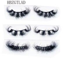 Mink Eyelashes 10-25mmLashes Fluffy 3d Mink Lashes Makeup Dramatic Long Natural Eyelashes Wholesale Eyelash Extension Maquillaje