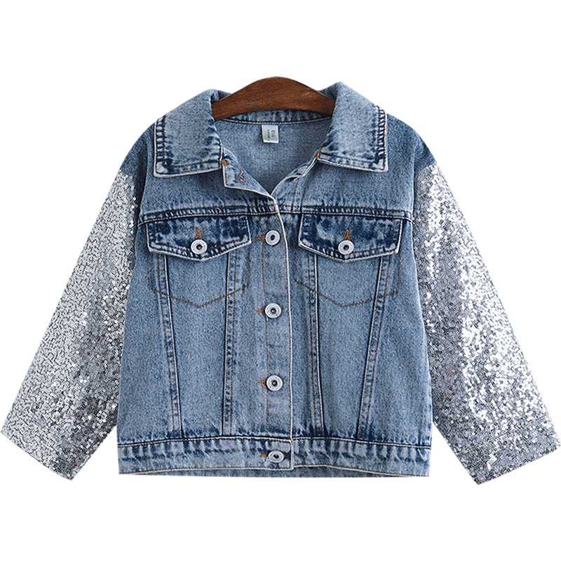 H0e75c926dd484a1dab271f52ed59e835b - NEW KId's Jean Jacket for Girls Cute Unicorn Coats Denim Jacket for Children Girls Clothes Jean Jackets For Toddler & Kids