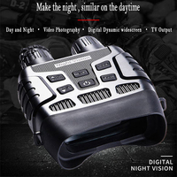 Infrared Zoom Binocular Digital Night Vision Device HD TFT Dynamic Widescreen Display Image Video Recorder for Day Night Hunting
