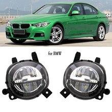 Đèn LED DRL Đèn Sương Mù Đèn Pha Cho Xe BMW F20 F22 F30 F35 LCI Sương Mù 2012 2018 Lái Xe Đèn Sương Mù đèn 63177315559 63177315560