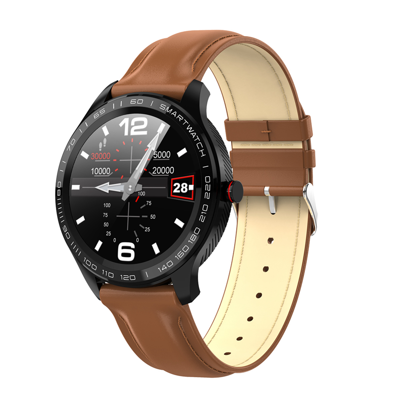 L9 ECG PPG <font><b>Smart</b></font> <font><b>Watch</b></font> Men Bluetooth <font><b>Watches</b></font> t Smartwatch IP68 Waterproof Heart Rate Blood Pressure reloj Facebook <font><b>Display</b></font> image