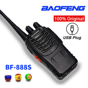 Image 2 - 3pcs Baofeng BF 888S Walkie Talkie BF 888s Ham Radio Earpieces 5W 400 470MHz UHF FM Transceiver Two Way Radio Comunicador