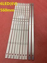 جديد 10 قطعة LED شريط إضاءة خلفي ل طومسون 32HB5426 TCL L32S4900 32L2800 L32P1A 4C LB3206 HR03J HR01J TOT_32D2900 32HR330M06A5 V5