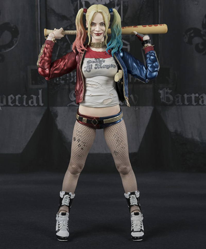 Suicide Squad Harley Quinn Joint Movable PVC Action Figures Toys Doll For Christmas Gift