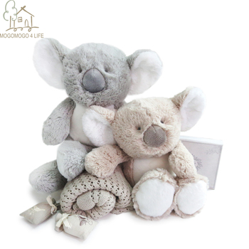 Luxury Fluffy Koala Stuffed Animal Toys Birthday Children's Day gift  Baby Nursey Snuggle Soft Doll Lovely  Koala Bear Plush 1pc 30cm sitting mother and baby koala plush toys stuffed koala dolls soft pillows kids toys good quality